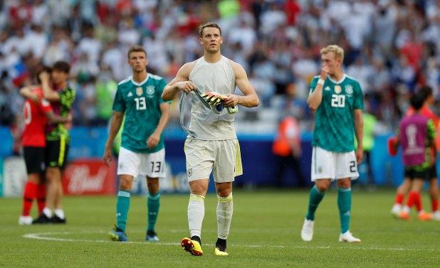 Alemania era candidata en el Mundial de Rusia y quedó eliminada en primera ronda (Reuters)