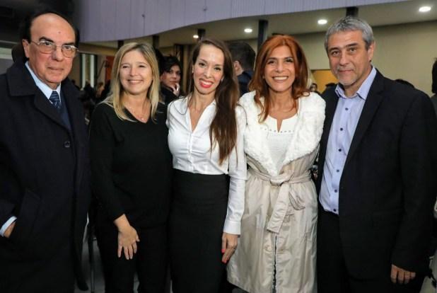 Las diputadas por Unidad Ciudadana Cristina Álvarez Rodríguez y Magdalena Sierra, en el evento llevado a cabo en el Centro Municipal de Arte de Avellaneda