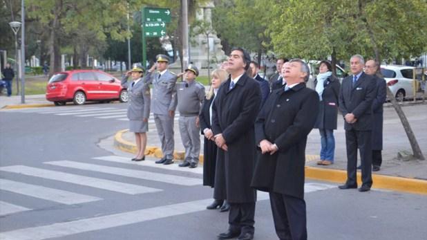 El gobernador Domingo Peppo y Jorge Capitanich, juntos en Chaco