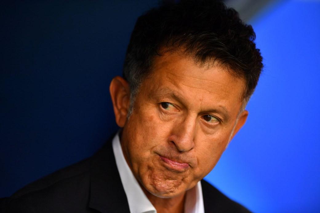 Juan Carlos Osorio no renovará su contrato con la selección de México(REUTERS)