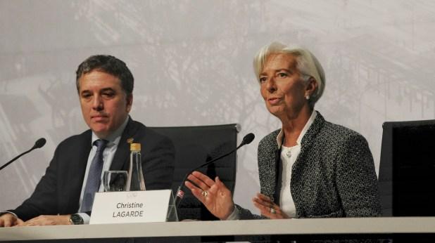 Conferencia de Lagarde y Dujovne (Patricio Murphy)