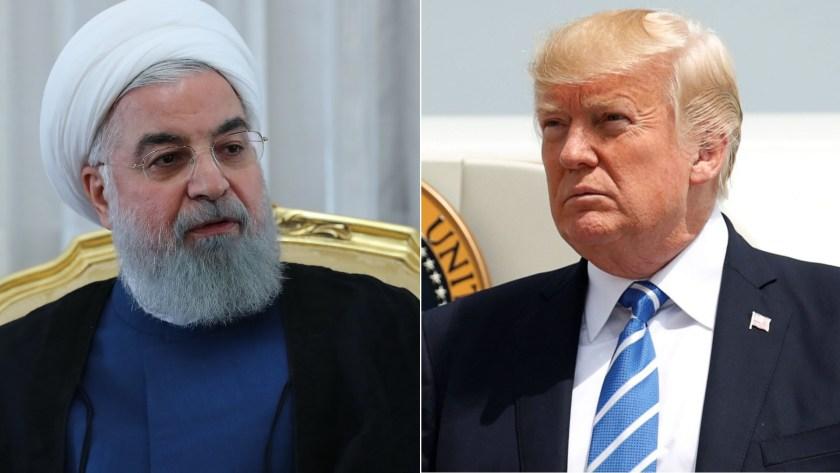Hassan Rohani y Donald Trump