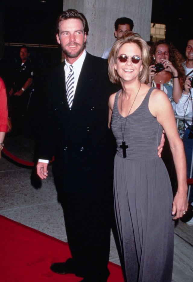 Meg Ryan y Denis Quaid se divorciaron en el 2001 (Grosby Group)