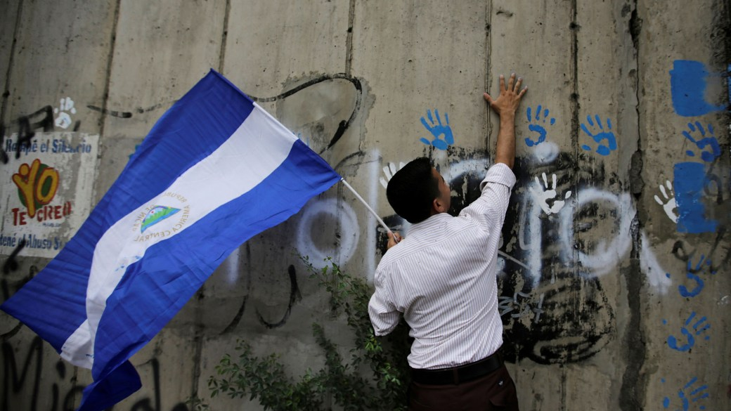 Estudiantes nicaragüenses conmemoraron cien días de protyes(Reuters)