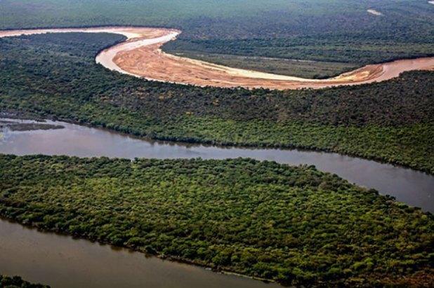 Vista aérea de las tierras de Roseo
