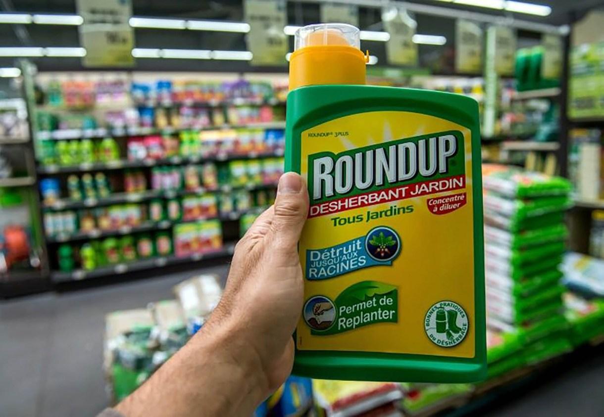 Rounup es el herbicida elaborado con glifosato de la multinacional Monsanto (adquirida por Bayer)