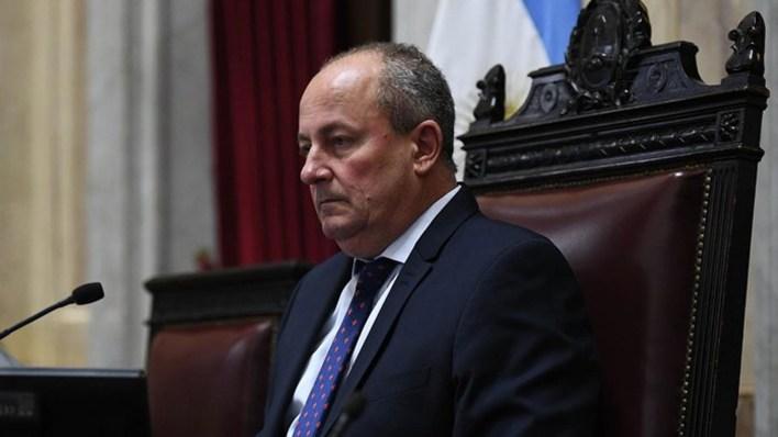 El senador radical Juan Carlos Marino (UCR)