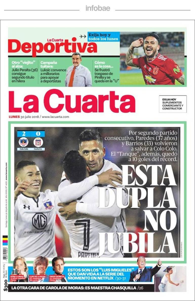 La Cuarta, Chile, 31 de julio de 2018 – Virales