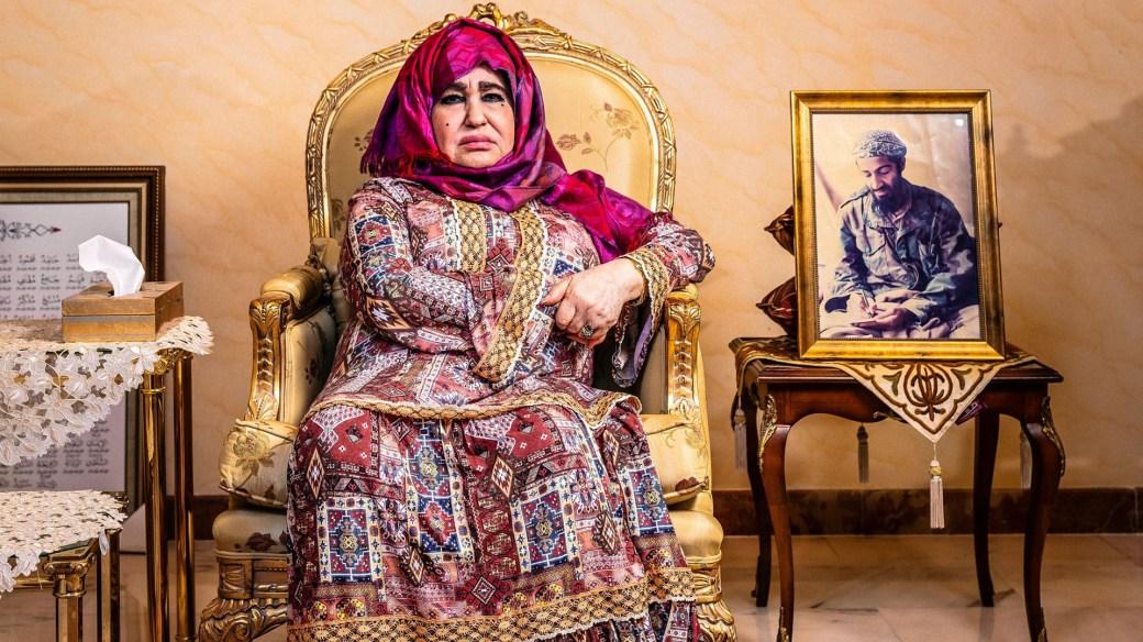 Alia Ghanem, la madre de Osama Bin Laden (Gentileza The Guardian)