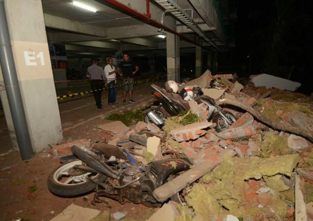 La isla de Lombok también fue víctima de un terremoto la semana pasada (AFP)