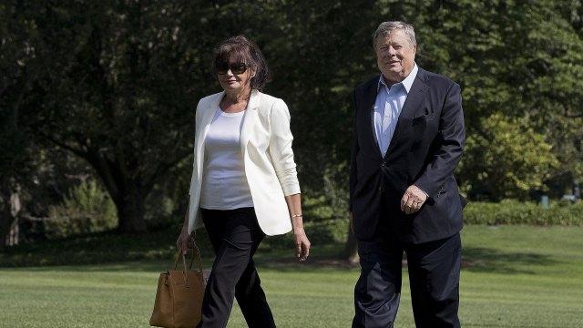 Los padres de Melania Trump