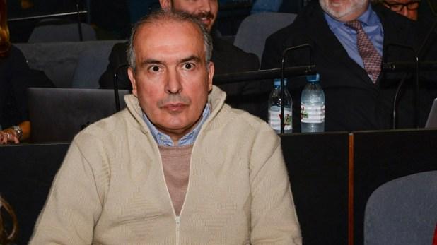 López declaró durante 50 minutos y solo respondió preguntas de su defensa (Julieta Ferrario)
