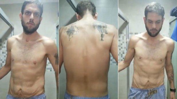Las imágenes del diputado opositor Juan Requesen preso pro el régimen de Maduro