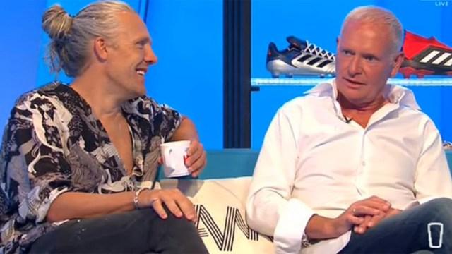 Paul Gascoigne participó de una entrevista en TV