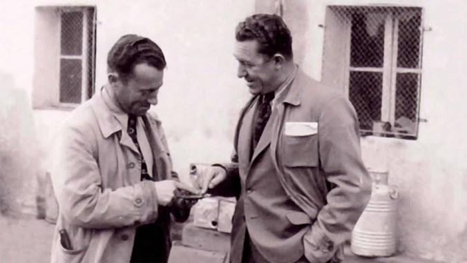 Adi y Rudolf Dassler