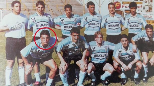 Suligoy durante su estadía en Atlético Rafaela