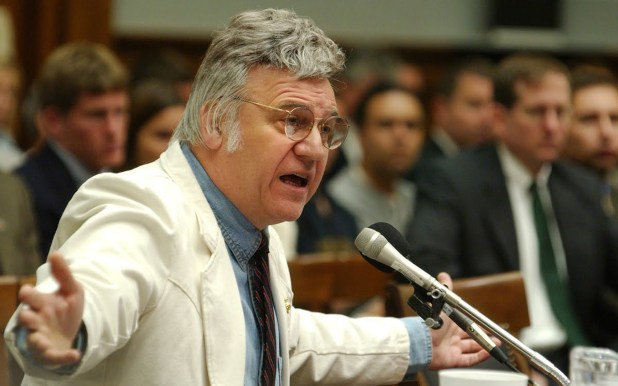 James Traficant fue detenido en 2002 y estuvo siete años en la cárcel