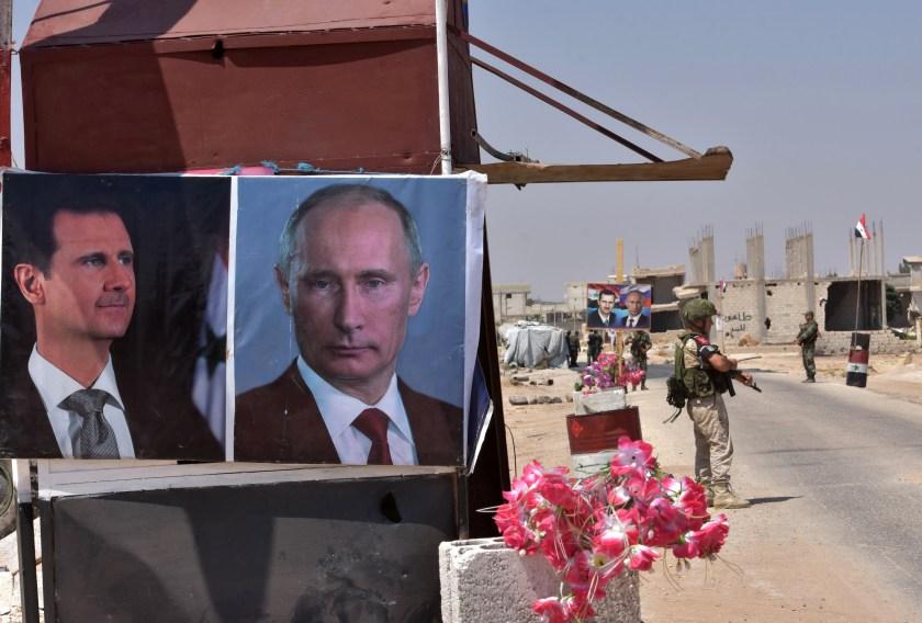 Rusia e Irán son los principales soportes del régimen sirio (AFP)