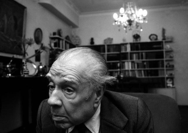 Jorge Luis Borges (foto de Caio Goldin)