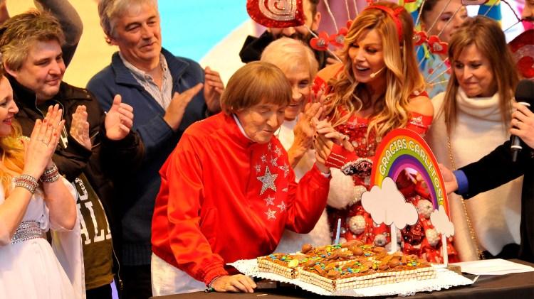 El humorista festejó sus 93 años