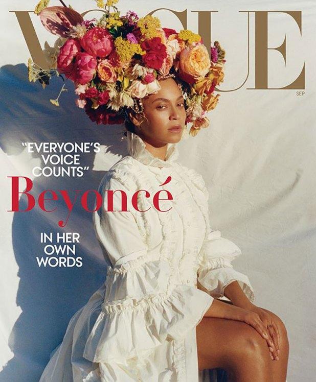 Beyoncé protagoniza el September Issue de Vogue Estados Unidos
