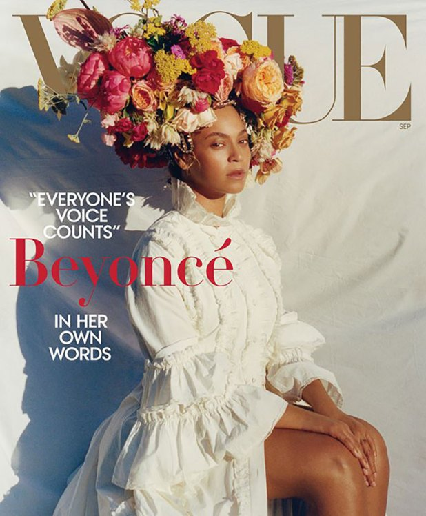 Beyoncé protagoniza el September Issue de Vogue Estados Unidos