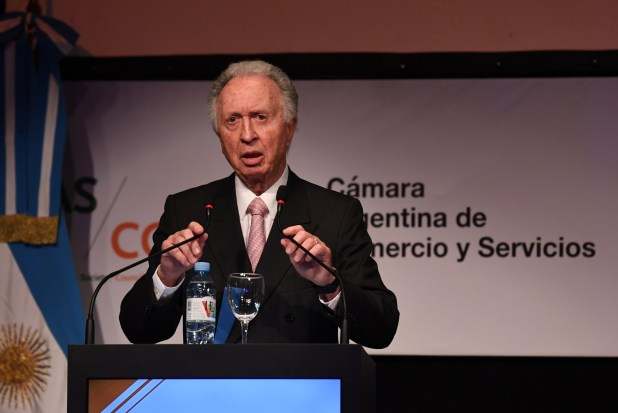 Jorge Di Fiori, presidente de la Cámara de Comercio (Maximiliano Luna)