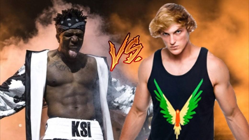 Cartel promocional de la pelea entre Logan Paul y KSI a través de YouTube (Cortesía)