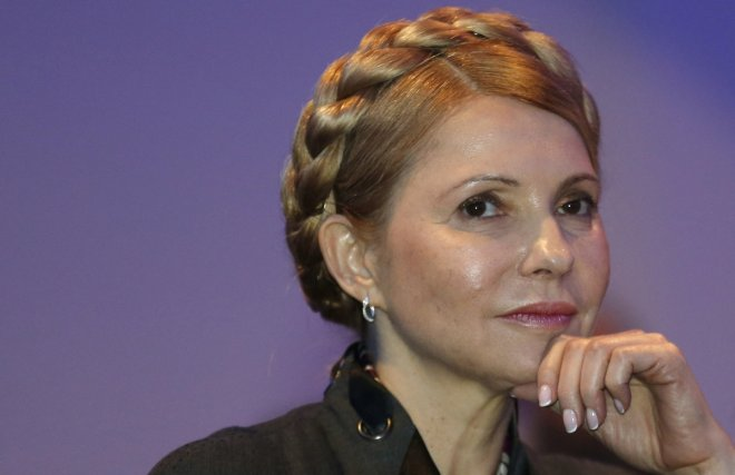 Yulia Timoshenko, candidata presidencial en Ucrania (Reuters/archivo)
