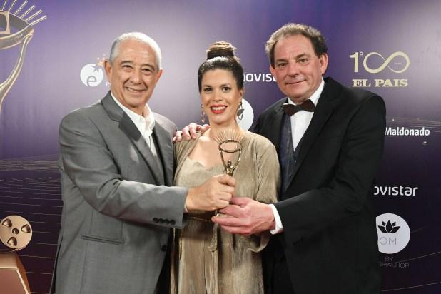 Sergio Puglia, Lucía Soria y Laurent Lainé, jurados de Masterchef