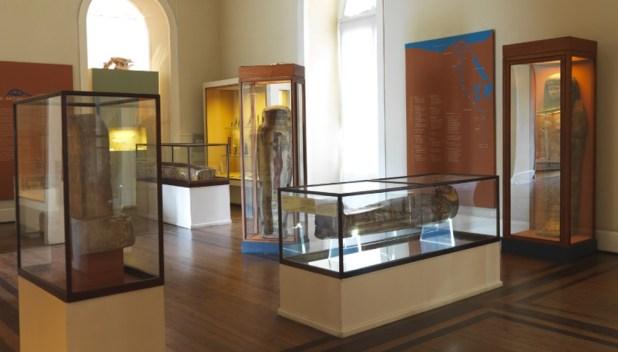 Una sala del Museo Nacional de Río de Janeiro