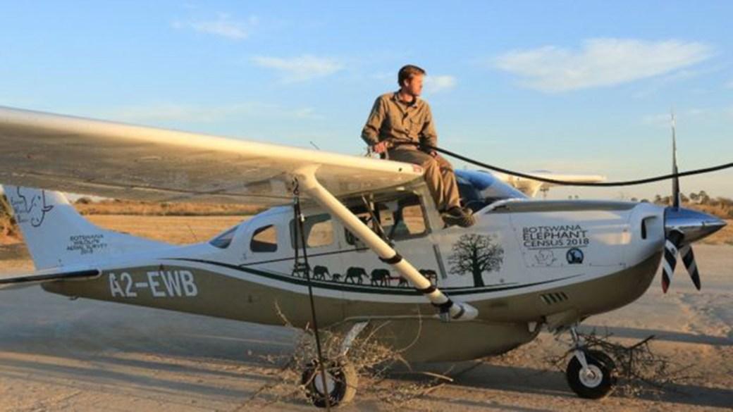 El avión con el que se hizo la inspección aérea