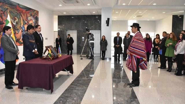 El indígena quechua Diego Pary es el nuevo canciller de Bolivia (EFE)