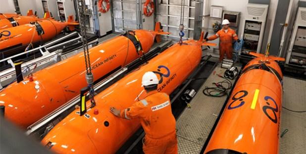 """Los 5 """"Drones submarinos"""" o AUV."""