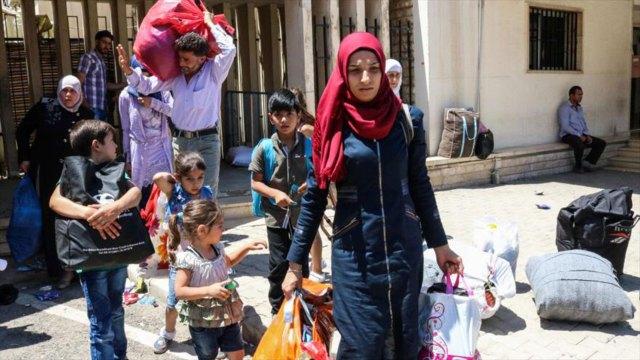 Cientos de civiles escaparon de Idlib ante la avanzada del grupo terrorista