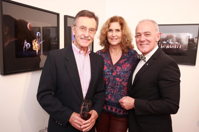 Pancho Ibáñez, Susana Milano y Martin Wullich