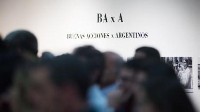 Asistentes a #BAxA en búsqueda de Buenas Acciones x Argentinos