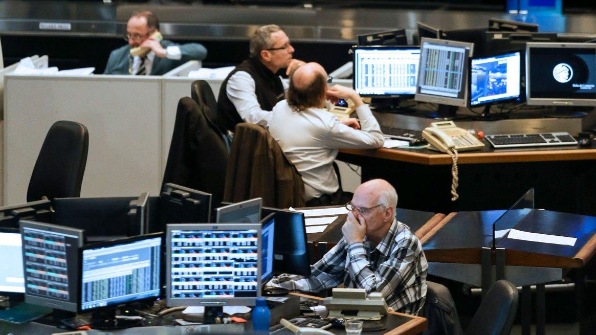 Bolsa de Comercio de Buenos Aires. (NA)