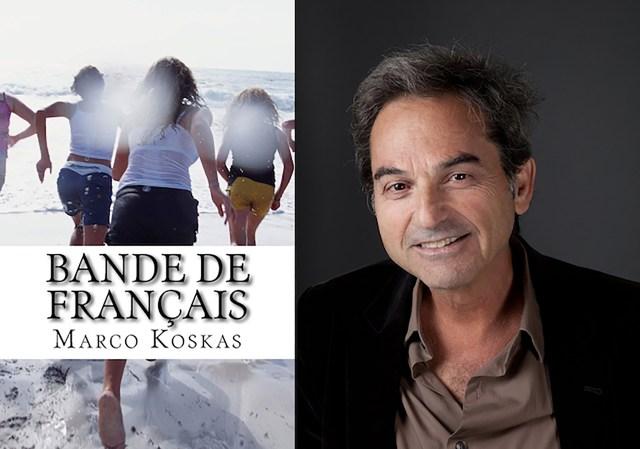 Marco Koskas y su novela, publicada por Amazon