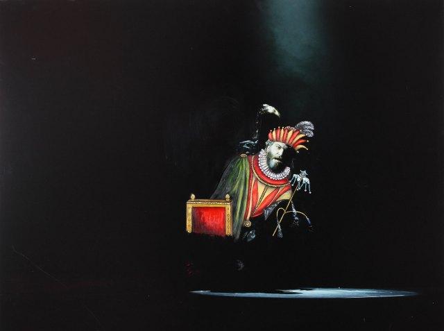 """""""RIGOLETTO Y GILDA"""": Rigoletto siente dolor y pena por ser el bufón de la corte y por elsecuestro de su hija Gilda, por el duque de Mantua"""