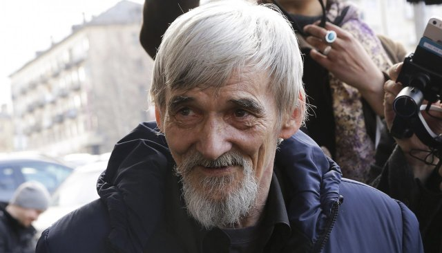 Yuri Dmitriev, quien encontró esta prueba de la Gran Purga, fue detenido ya dos veces. (Reuters)