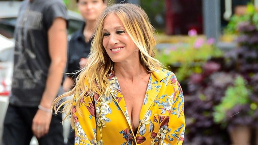 """Sarah Jessica Parker dio vida a Carrie Bradshaw en """"Sex and the City"""" en las películas y las series (Mega/The Grosby Group)"""