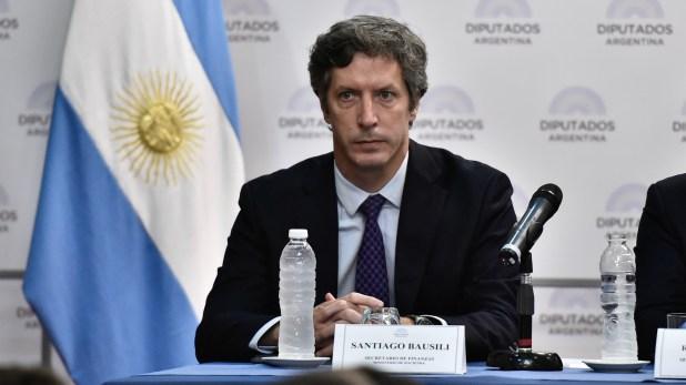 Santiago Bausili, secretario de Finanzas (Adrián Escandar)