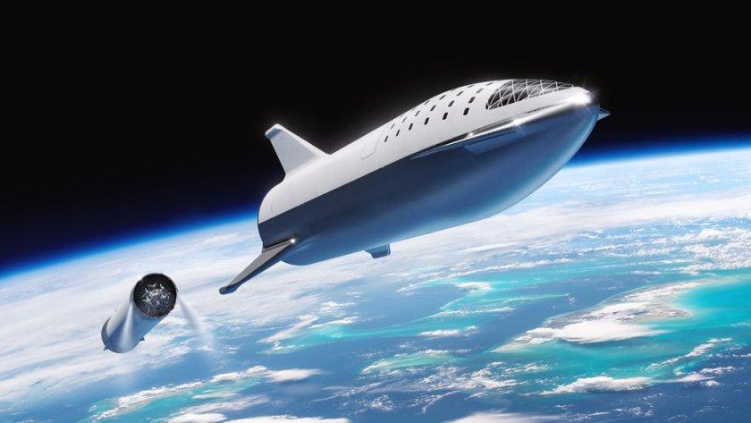 El BFR será el cohete más potente jamás construido. Podrá llevar astronautas hasta la Luna y Marte (Twitter/Space X)