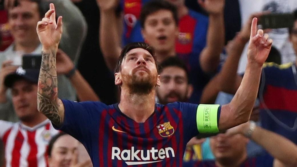 Messi no estará en la ceremonia