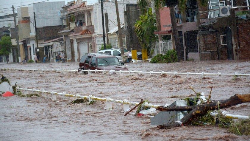 Fuertes lluvias provocaron trágicas inundaciones en Sinaloa la semana pasada (EFE)