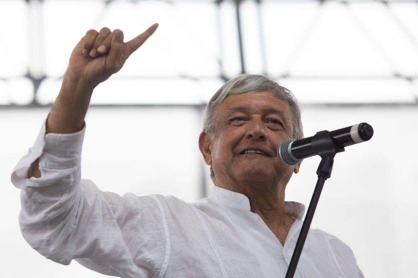 Andrés Manuel López Obrador, en Guadalajara (EFE)