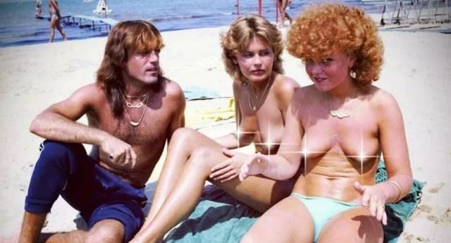 Zanfanti en las playas de Rimini, en plena conquista (Foto: Shutterstock)