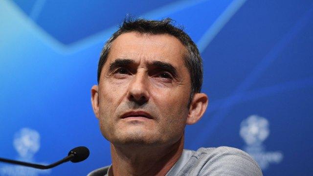 Ernesto Valverde, DT del Barcelona (EFE)