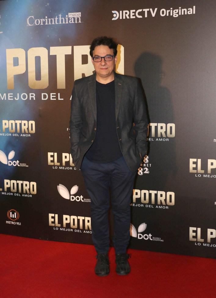 """En la película, Fernán Mirás hace del """"Oso"""", representante de Rodrigo"""